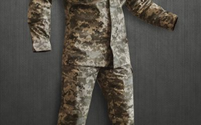Американська військова форма адаптована до українських умов