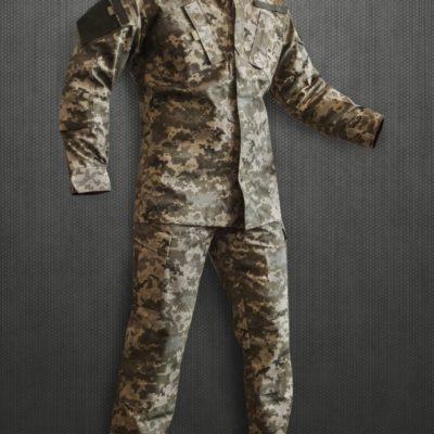 """US Army Combat Uniform в кольорі """"український піксель"""" адаптована до умов служби в ЗСУ"""