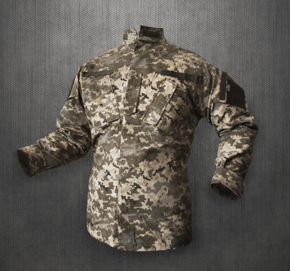 куртка US Army Combat Uniform адаптована до умов служби в ЗСУ