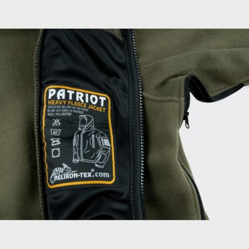 Куртка PATRIOT - Double Fleece - олива